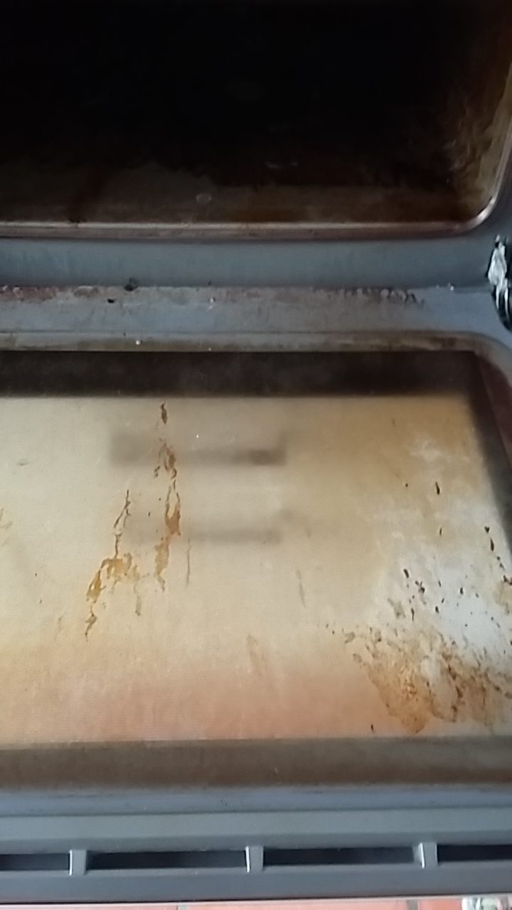 Oven - before cleaning services