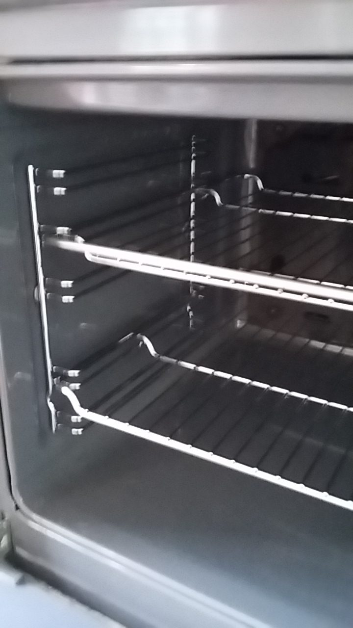 Oven inside - after cleaning services - like new