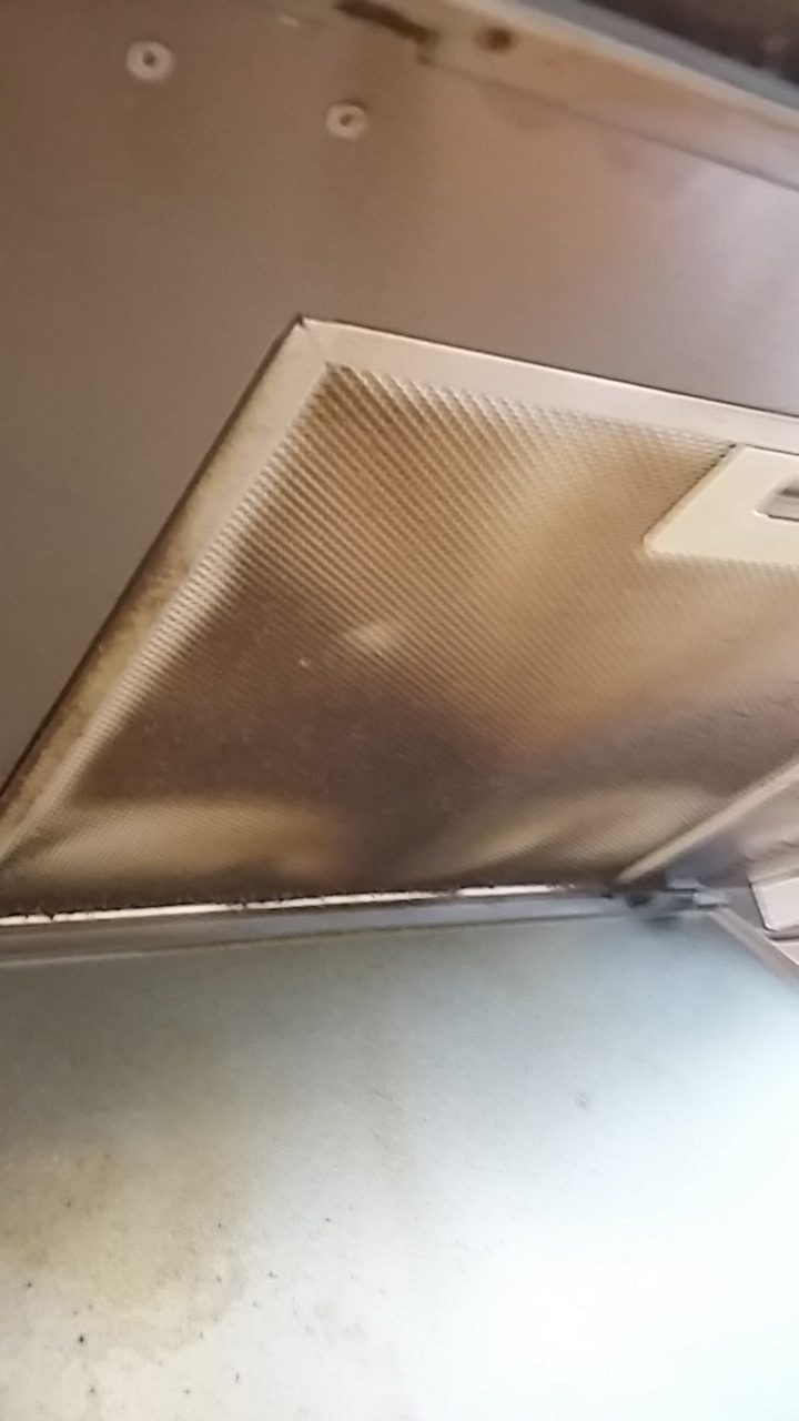 extraction hood - after cleaning services