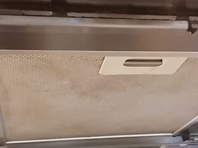 extraction hood - before cleaning services